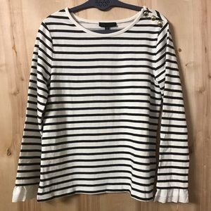 NWT Sanctuary Franca Striped Knit Top Size Small